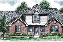 Traditional Exterior - Front Elevation Plan #52-261