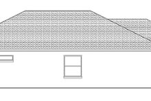 Adobe / Southwestern Exterior - Other Elevation Plan #1058-88
