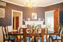Classical Interior - Dining Room Plan #72-684
