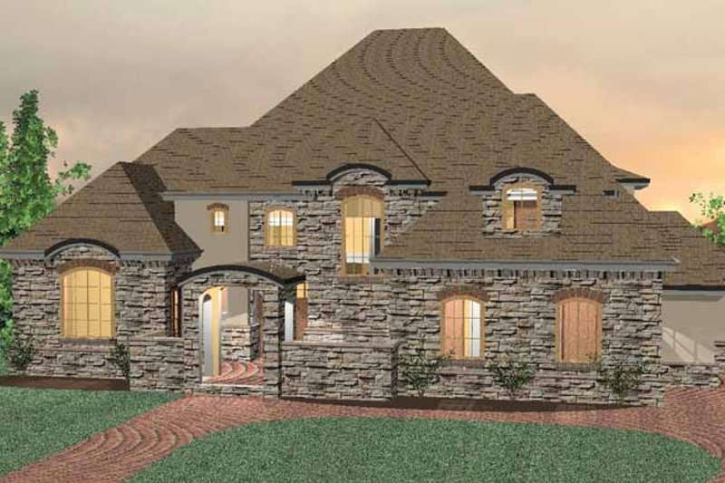 Dream House Plan - Country Exterior - Front Elevation Plan #937-11