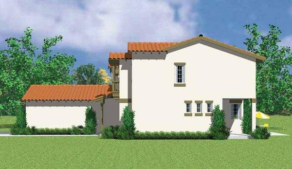 House Blueprint - Adobe / Southwestern Floor Plan - Other Floor Plan #72-1133