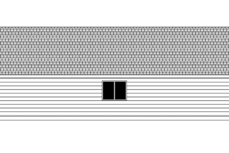 Ranch Exterior - Other Elevation Plan #943-46 - Houseplans.com
