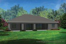 House Plan Design - Contemporary Exterior - Rear Elevation Plan #930-455