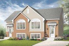 Dream House Plan - European Exterior - Front Elevation Plan #23-2398