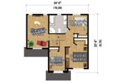 Traditional Style House Plan - 3 Beds 1 Baths 1592 Sq/Ft Plan #25-4423 Floor Plan - Upper Floor Plan