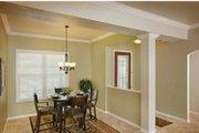 Mediterranean Style House Plan - 3 Beds 2.5 Baths 2287 Sq/Ft Plan #938-20 Interior - Dining Room