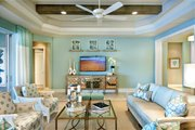 Mediterranean Style House Plan - 3 Beds 3 Baths 3083 Sq/Ft Plan #930-448 Interior - Family Room