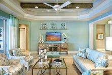 Home Plan - Mediterranean Interior - Family Room Plan #930-448