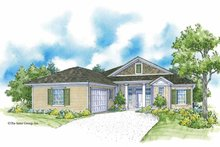 Country Exterior - Front Elevation Plan #930-368