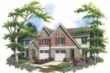 Dream House Plan - Country Exterior - Front Elevation Plan #48-820