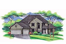 House Plan Design - Country Exterior - Front Elevation Plan #51-1004