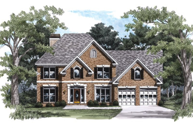 Colonial Exterior - Front Elevation Plan #927-156 - Houseplans.com