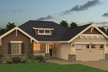 Craftsman Exterior - Front Elevation Plan #943-48
