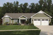 Craftsman Exterior - Front Elevation Plan #928-139