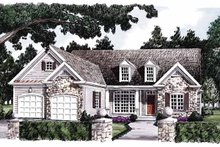 Home Plan - Country Exterior - Front Elevation Plan #927-584