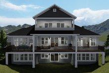 House Plan Design - Traditional Exterior - Rear Elevation Plan #1060-69