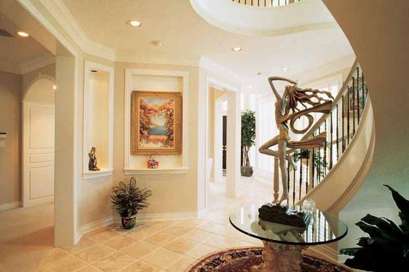 Classical Interior - Entry Plan #1021-4 - Houseplans.com