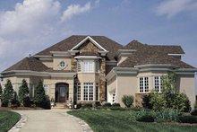 House Plan Design - Mediterranean Exterior - Front Elevation Plan #453-126