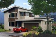Modern Style House Plan - 2 Beds 2.5 Baths 2047 Sq/Ft Plan #48-525