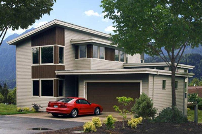 Modern Photo Plan #48-525 - Houseplans.com