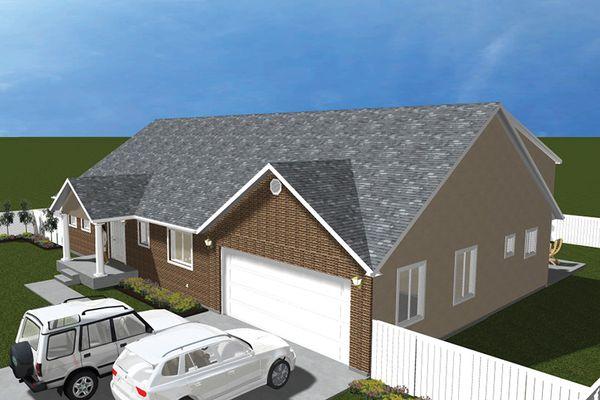 House Plan Design - Traditional Floor Plan - Other Floor Plan #1060-20