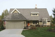 House Plan Design - European Exterior - Front Elevation Plan #928-154