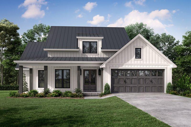 House Plan Design - Farmhouse Exterior - Front Elevation Plan #430-264