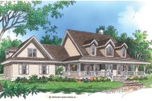 Dream House Plan - Country Exterior - Front Elevation Plan #929-22