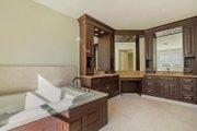 Mediterranean Style House Plan - 4 Beds 4.5 Baths 4513 Sq/Ft Plan #548-14 Interior - Master Bathroom
