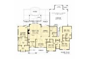 Ranch Style House Plan - 4 Beds 3.1 Baths 2512 Sq/Ft Plan #929-1059 Floor Plan - Main Floor Plan