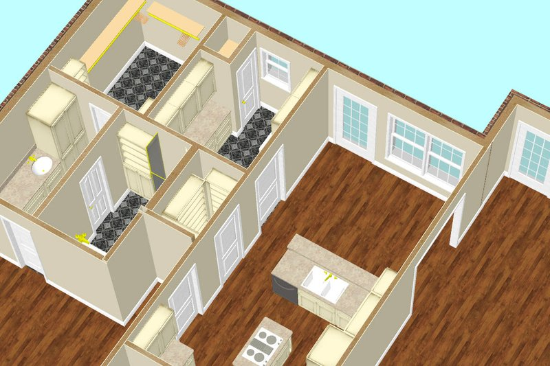 Southern Interior - Other Plan #44-145 - Houseplans.com