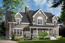 Country Exterior - Front Elevation Plan #23-627