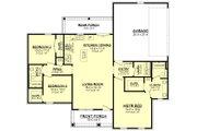 Farmhouse Style House Plan - 3 Beds 2 Baths 1327 Sq/Ft Plan #430-213 Floor Plan - Main Floor