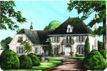 Home Plan - European Exterior - Other Elevation Plan #137-117