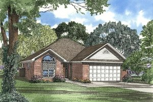 Traditional Exterior - Front Elevation Plan #17-152