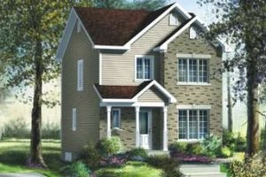 Traditional Exterior - Front Elevation Plan #25-4022