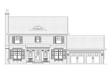 House Design - Colonial Exterior - Front Elevation Plan #901-22