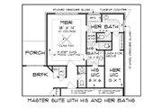 Tudor Style House Plan - 4 Beds 3.5 Baths 2342 Sq/Ft Plan #45-372 Floor Plan - Other Floor Plan
