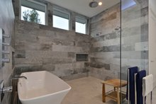 House Design - Contemporary Interior - Master Bathroom Plan #935-18