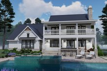 Home Plan - Southern Exterior - Rear Elevation Plan #120-260