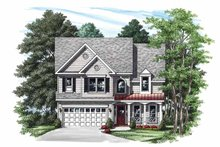 House Plan Design - Country Exterior - Front Elevation Plan #927-345