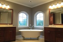 Architectural House Design - Country Interior - Master Bathroom Plan #437-72