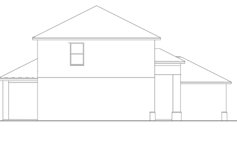 Colonial Exterior - Other Elevation Plan #1058-23 - Houseplans.com