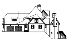 Dream House Plan - European Exterior - Other Elevation Plan #453-605