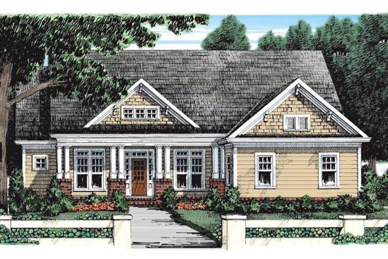 Home Plan - Craftsman Exterior - Front Elevation Plan #927-928