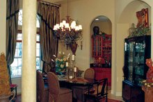 House Plan Design - Mediterranean Interior - Dining Room Plan #417-748