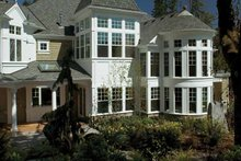 Craftsman Exterior - Rear Elevation Plan #132-353