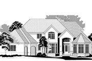 European Style House Plan - 5 Beds 6.5 Baths 5171 Sq/Ft Plan #67-886