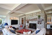 Craftsman Style House Plan - 5 Beds 4.5 Baths 4964 Sq/Ft Plan #928-176 Interior - Family Room