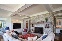 Craftsman Interior - Family Room Plan #928-176